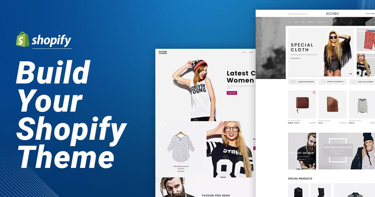 shopify website development services